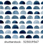 hand painted seamless pattern.... | Shutterstock . vector #525019567