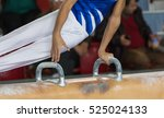 magnesium of gymnastic | Shutterstock . vector #525024133