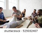 health wellness massage... | Shutterstock . vector #525032407