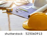 architect concept  architects... | Shutterstock . vector #525060913