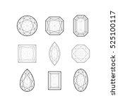 vector illustration of linear...   Shutterstock .eps vector #525100117