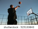 Portrait Of A Basketball Playe...