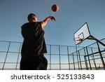 Portrait Of A Basketball Playe...