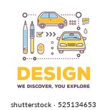 vector creative illustration of ... | Shutterstock .eps vector #525134653