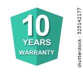 warranty promotional sale... | Shutterstock .eps vector #525142177