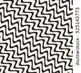 vector seamless hand drawn... | Shutterstock .eps vector #525143773