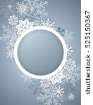 elegant christmas background... | Shutterstock .eps vector #525150367