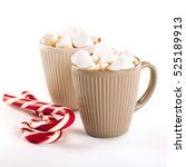 Cup Of Hot Cocoa With...