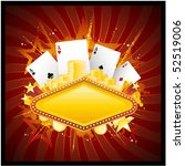 casino design | Shutterstock .eps vector #52519006
