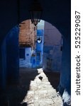 Small photo of Chefchaouen - aka the blue city, Morocco