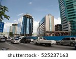 port of spain  trinidad and... | Shutterstock . vector #525237163