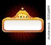 casino billboard sign | Shutterstock .eps vector #52526899