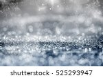 magic blue holiday abstract... | Shutterstock . vector #525293947