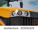 New Yellow Agricultural Tractor