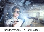 innovative technologies in... | Shutterstock . vector #525419353