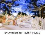 dinner set up | Shutterstock . vector #525444217
