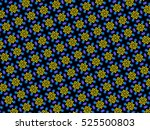 an hand drawing of a pattern... | Shutterstock . vector #525500803