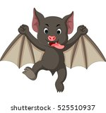 bat cartoon | Shutterstock .eps vector #525510937