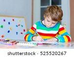 Portrait Of Cute Happy School...