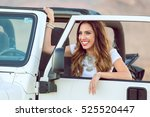 young smiling beautiful woman... | Shutterstock . vector #525520447