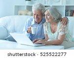 portrait of happy beautiful... | Shutterstock . vector #525522277