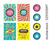 sale website banner templates.... | Shutterstock . vector #525555097