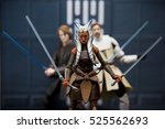 star wars hasbro black series 6 ... | Shutterstock . vector #525562693