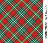 seamless tartan plaid pattern.... | Shutterstock .eps vector #525563677