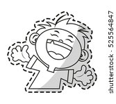 isolated kid cartoon design | Shutterstock .eps vector #525564847