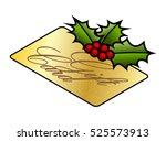 christmas holidays gift buying...   Shutterstock .eps vector #525573913