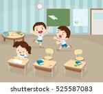children's activity in the...   Shutterstock .eps vector #525587083