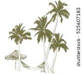 vector illustration on a... | Shutterstock .eps vector #525607183