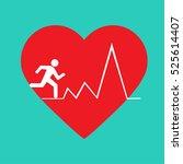 cardio metabolic icon   Shutterstock .eps vector #525614407