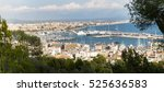 Panorama View Of The Port With...