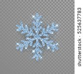 Shine Crystal Snowflake Covere...