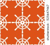 marine seamless vector pattern | Shutterstock .eps vector #525647467