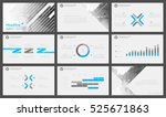 elements of infographics for... | Shutterstock .eps vector #525671863