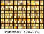 gold gradient background vector ... | Shutterstock .eps vector #525698143