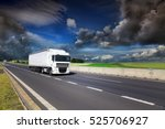 truck on the road | Shutterstock . vector #525706927