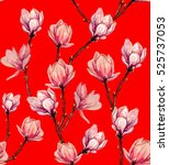 beautiful vector pattern with... | Shutterstock .eps vector #525737053