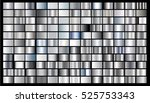 silver gradient background... | Shutterstock .eps vector #525753343