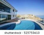 luxury estate  villa    Shutterstock . vector #525753613