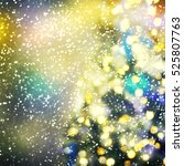 christmas background | Shutterstock . vector #525807763