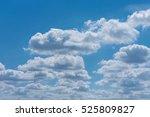 Beautiful Panorama Blue Sky An...