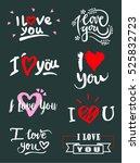 i love you.  | Shutterstock .eps vector #525832723