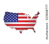 usa map | Shutterstock .eps vector #525838777