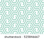 abstract geometric pattern with ... | Shutterstock . vector #525846667