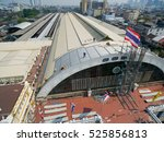 aerial view  improvement old... | Shutterstock . vector #525856813