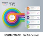 infographic design vector and...   Shutterstock .eps vector #525872863