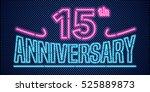 15 Years Anniversary Vector...